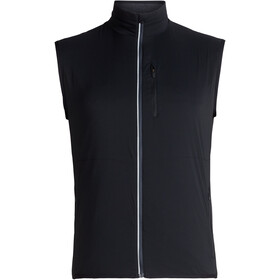 Icebreaker Tech Trainer Hybrid Vest Herrer, black/jet heather